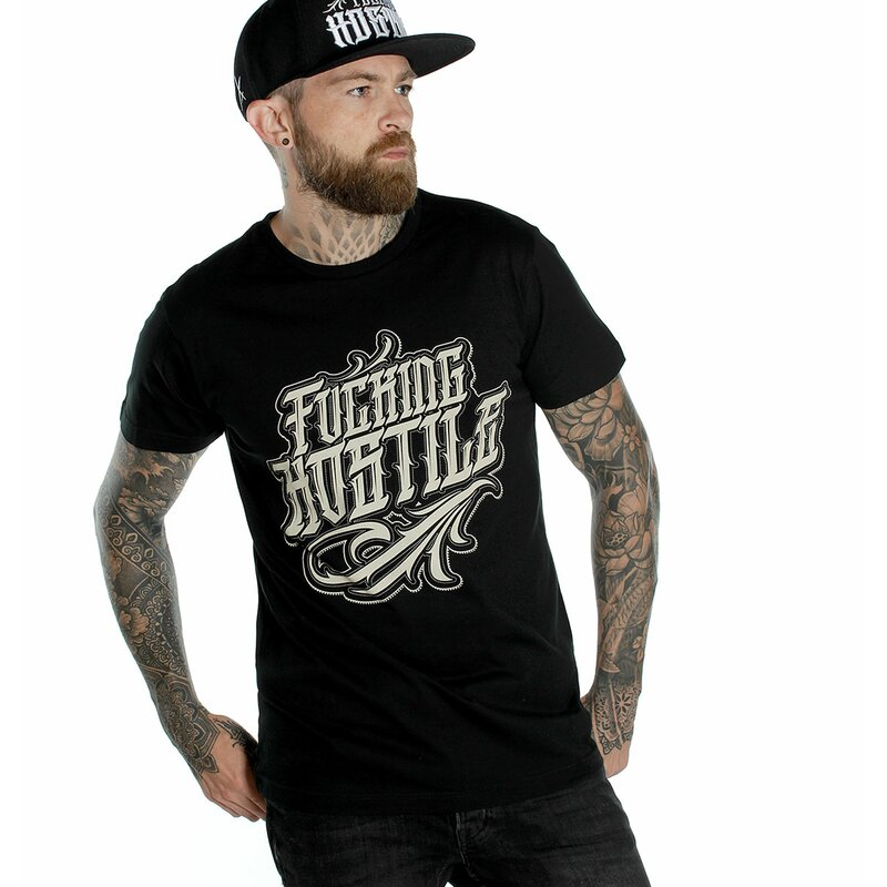 Hyraw T-Shirt - Fucking Hostile Schwarz L