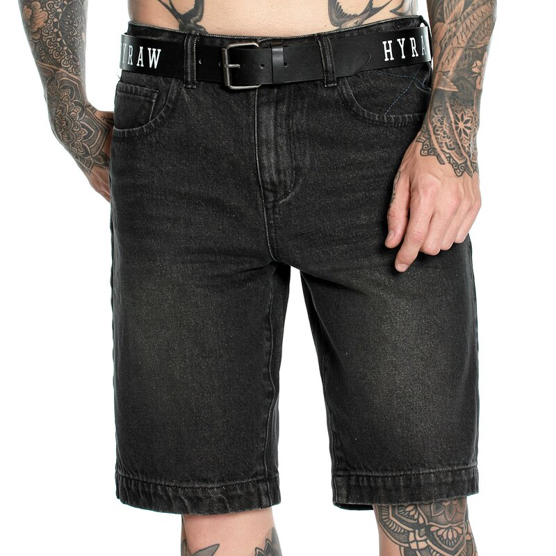 Hyraw Denim Shorts - 666 M