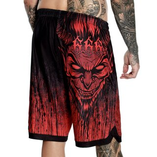 Hyraw Reversible Sports Shorts - Lucifer