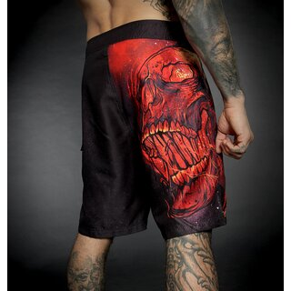 Hyraw Board Shorts - Burn In Hell