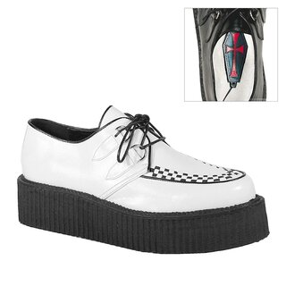 Demonia Sneakers - V-Creeper-502 White