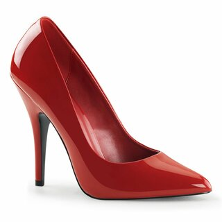 Pleaser Pumps - Seduce-420V Red