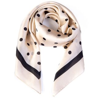 Banned Retro Scarf - Pearl Ivy Off-White