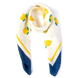 Banned Retro Scarf - Lemon Pearl