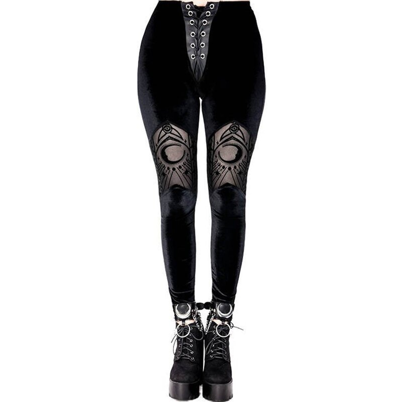 Restyle Leggings - Velvet Moon Cathedral XXL