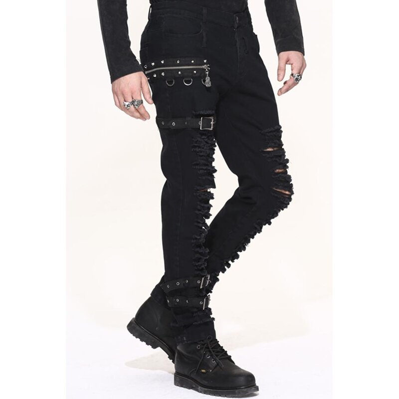 Devil Fashion Jeans Hose - Demolition M