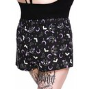 Killstar Pyjamashorts - Batty XL