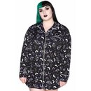 Killstar Nachthemd - Batty Sleep Shirt L