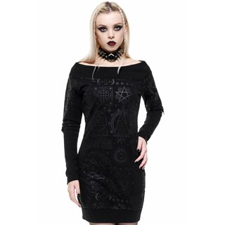 Killstar Sweater Mini Dress - Unholy Sabbath