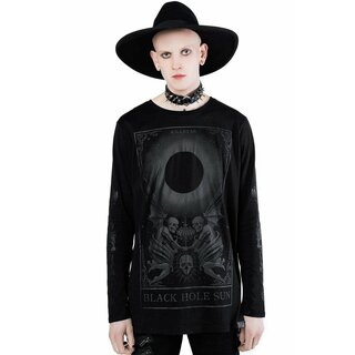 Killstar Long Sleeve T-Shirt - Black Sun