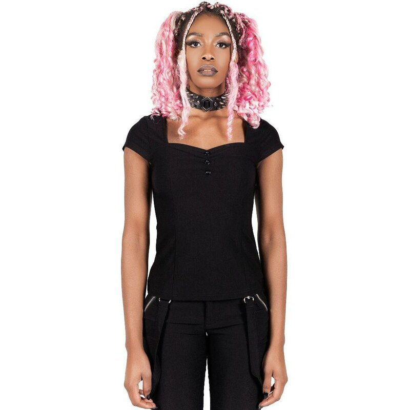 Killstar Gothic Blouse - Wildling Black