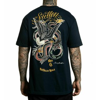 Sullen Clothing T-Shirt - Battagia Reale Navy