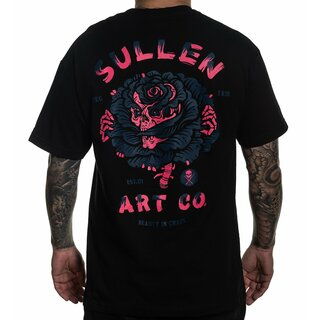 Sullen Clothing T-Shirt - Watts Rose Black
