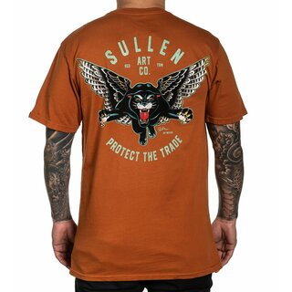 Sullen Clothing T-Shirt - Blaq Magic Texas Orange