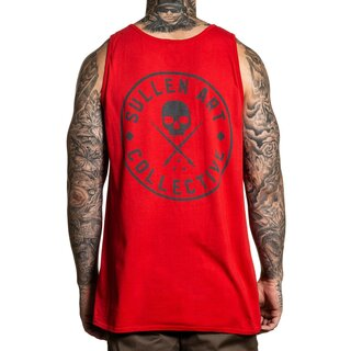 Sullen Clothing Tank Top - Forever Red