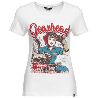 Queen Kerosin T-Shirt - Gearhead White