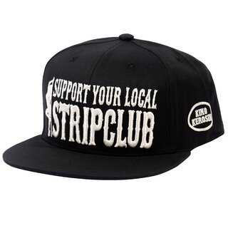 King Kerosin Snapback Cap - Stripclub