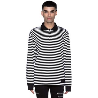 Killstar Long Sleeve T-Shirt - Damon White