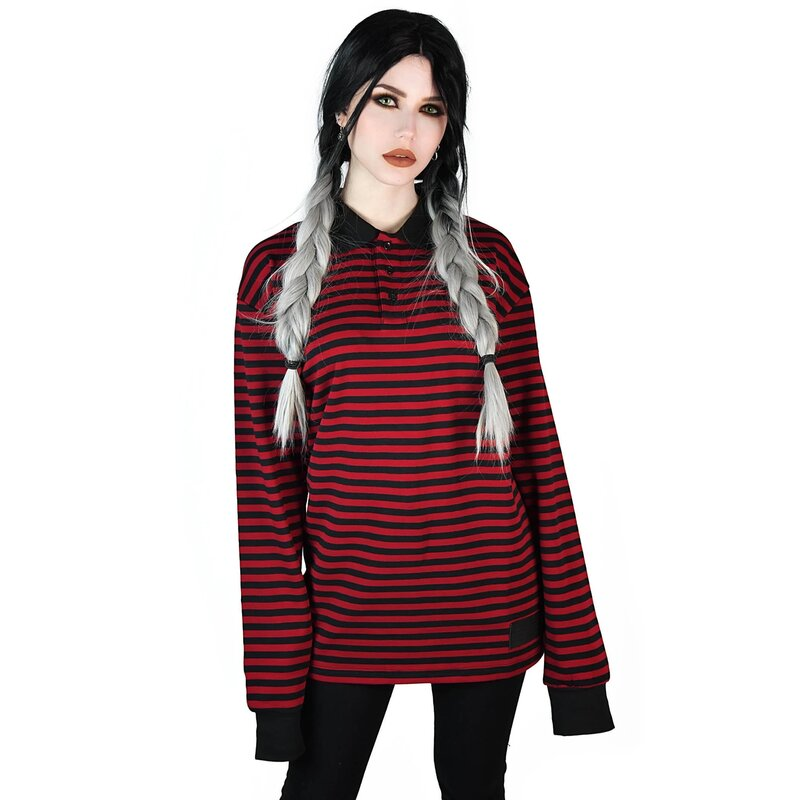 Killstar Long Sleeve T-Shirt - Damon Blood
