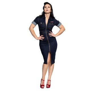 Queen Kerosin Workwear Dress - Speedway Garage
