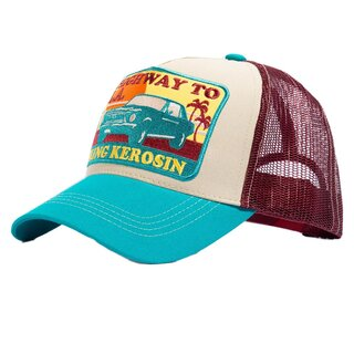 King Kerosin Trucker Cap - Highway To L.A.