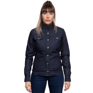 Queen Kerosin Shirt with Thermal Lining - Blanko Denim