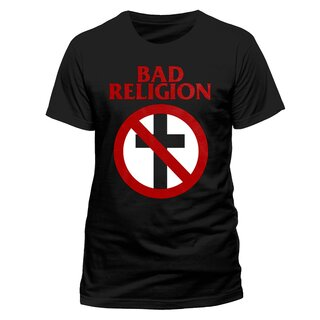 Mens Band T-Shirt Bad Religion - Crossbusters M